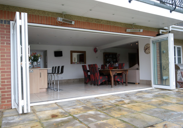 Slimline Bi fold Patio Doors